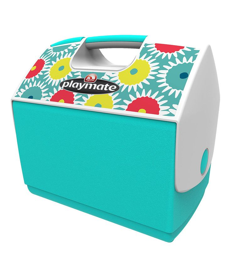 Look at this Igloo Lemon & Mandar Playmate Elite Cooler on #zulily today!