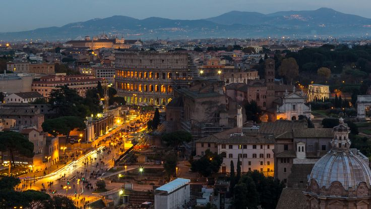Rome - The eternal city - Re-work on a new monitor!