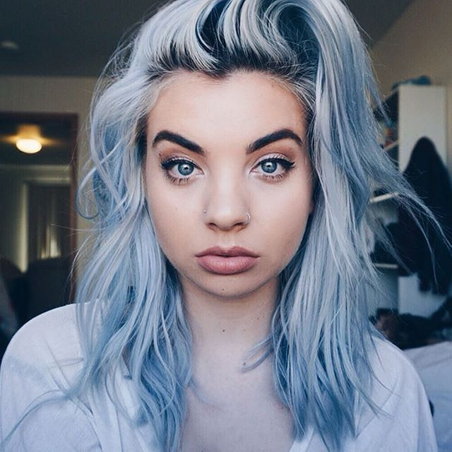 THIS COLOR IS AMAZING!! The stunning @breannurlaub used #RockabillyBlue dilued…
