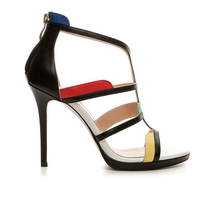1008B10_BLACK LEATHER www.mourtzi.com #mourtzi #wow #heels #sandals #style #wearthis