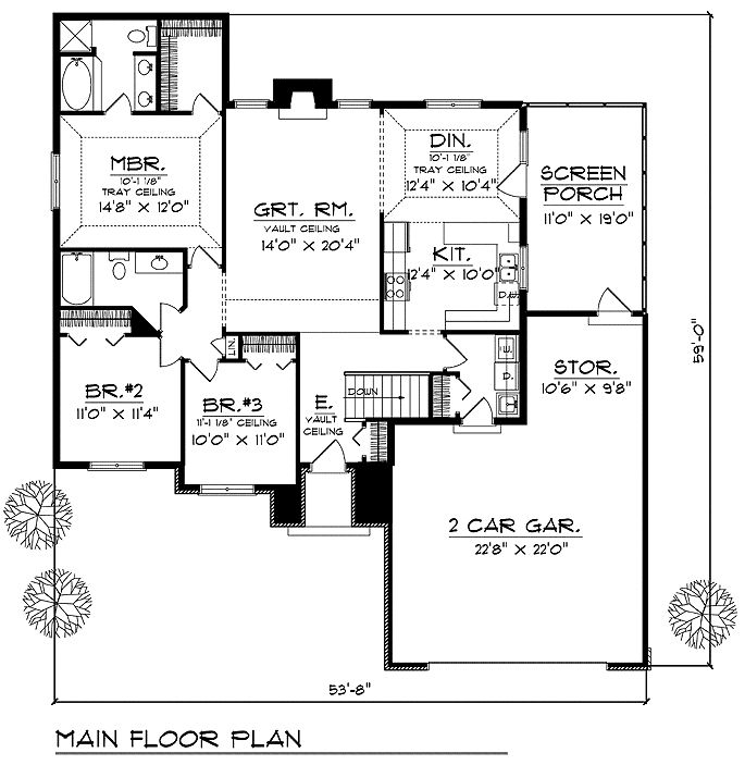 1000 Images About Floorplans With Bedrooms Grouped