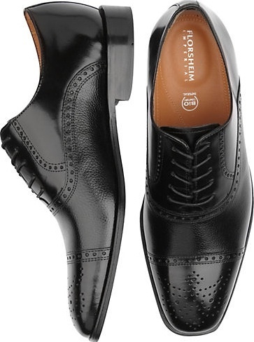 Fact: Every well-dressed man owns a stylish pair of #shoes. Dual-textured leather upper Florsheim Imperial Lace-Ups are one of our most popular pairs and make for the perfect addition to any wardrobe.
