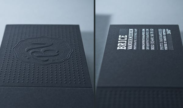 BV Photographie by INK studio, via Behance