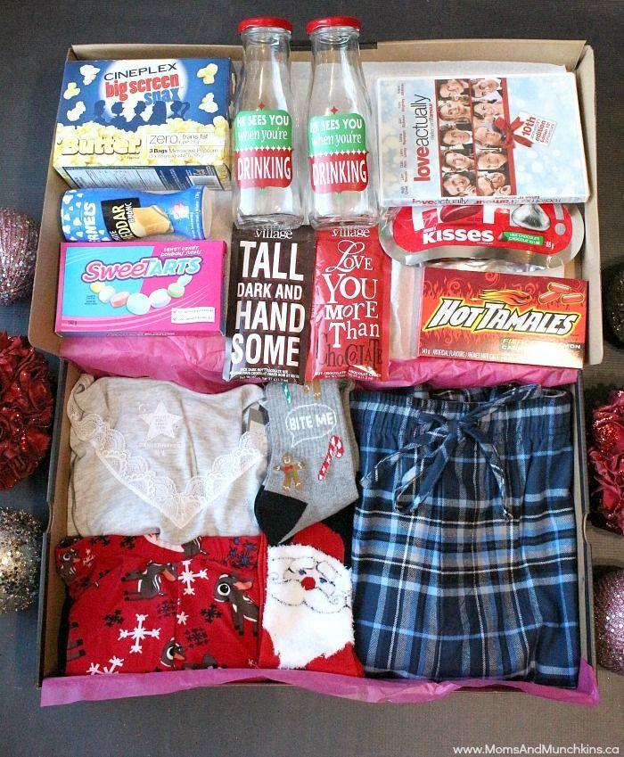 Date Night Before Christmas Box Moms Munchkins Night Before Christmas Box Christmas Box Gifts Diy Fun