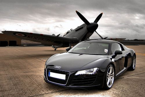 Audi R8 - I'll work as hard as I have to, to one day have this machine.