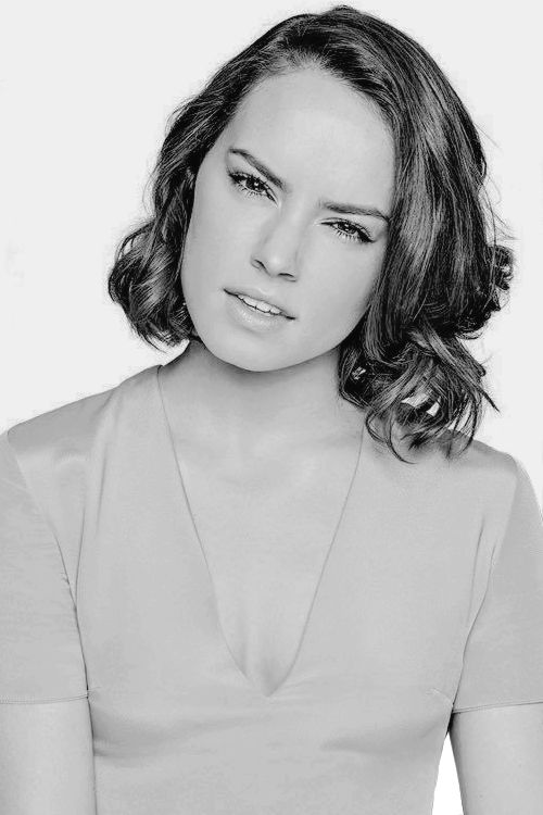 Daisy Ridley is the NEXT BIG THING in acting. So far you know her as Rey in starwars... But soon she will be in everything .