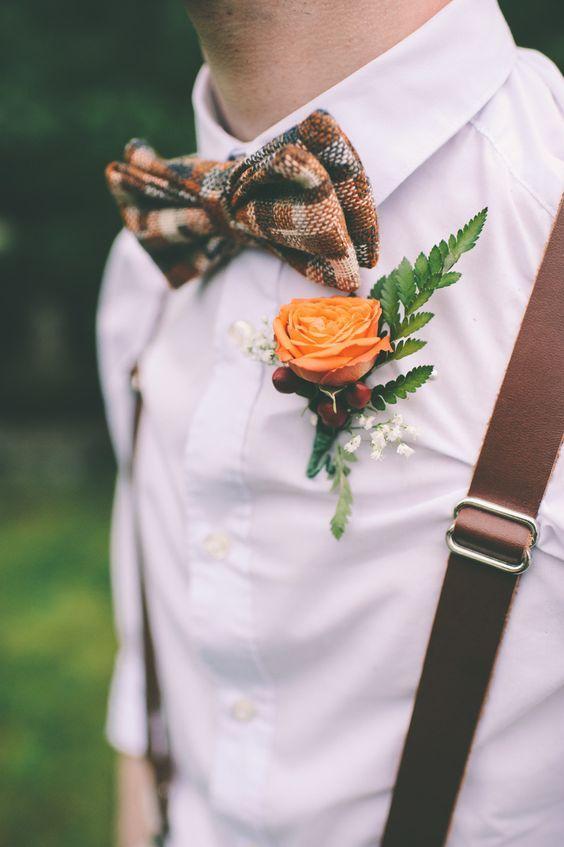 Textured tie   Photography: Tiffany Medrano Photography - tiffanymedrano.com/  Read More: http://www.stylemepretty.com/new-england-weddings/2014/04/30/whimisical-diy-wedding-at-hartmans-herb-farm/: