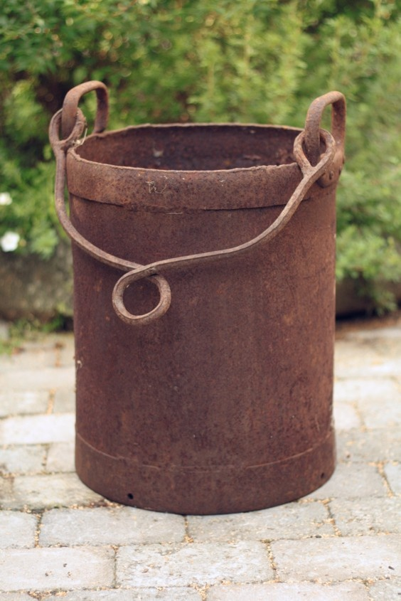 Not sure what this bucket was used for. . .