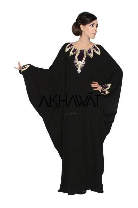 Regalia Gold Velvet Abya with Crystal Butterfly Abaya with Matching Shayla (1)