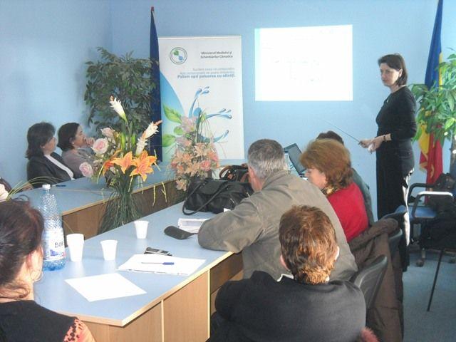 VĂDENI, BRĂILA – Seminar pentru formare de formatori, educație ecologică
