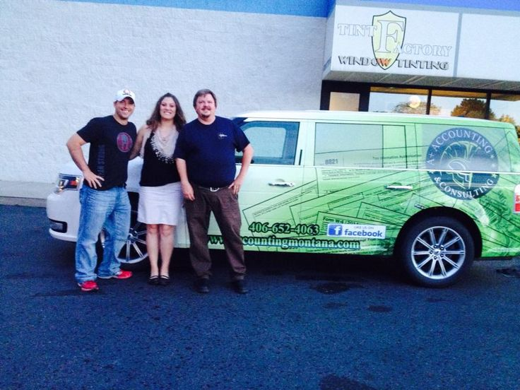 Thank you Vern at The Tint Factory for our new wrap! We're all ready for Laurel's 4th of July Parade in the morning!