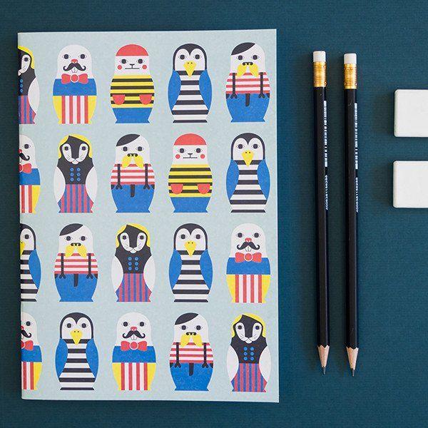 """Muumuru """"Odd&Jolly"""" A5 Notebook"""