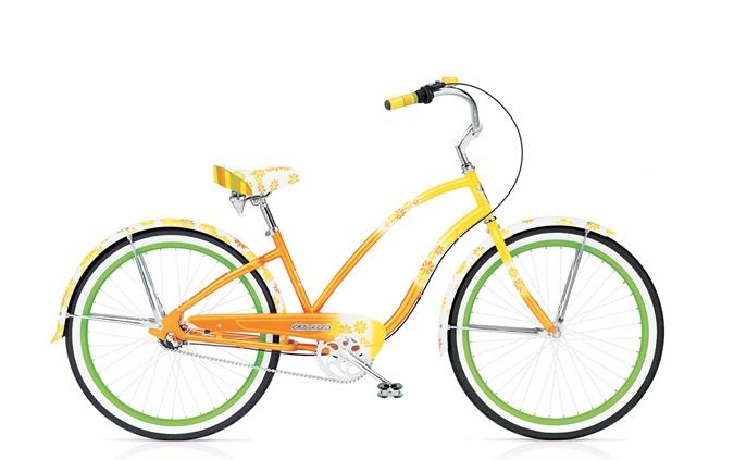 Cruiser Daisy 3i Bike by Electra Bicycle Company - If I ever move to the beach I'm getting this:)
