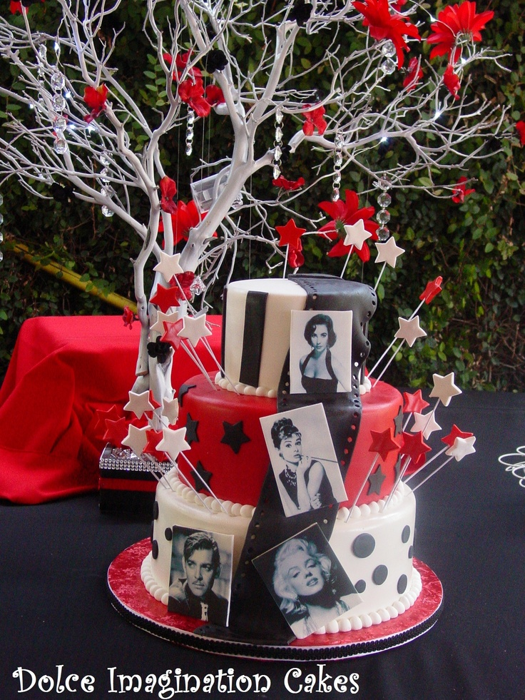 37 Best Hollywood Theme Sweet 16 Images On Pinterest