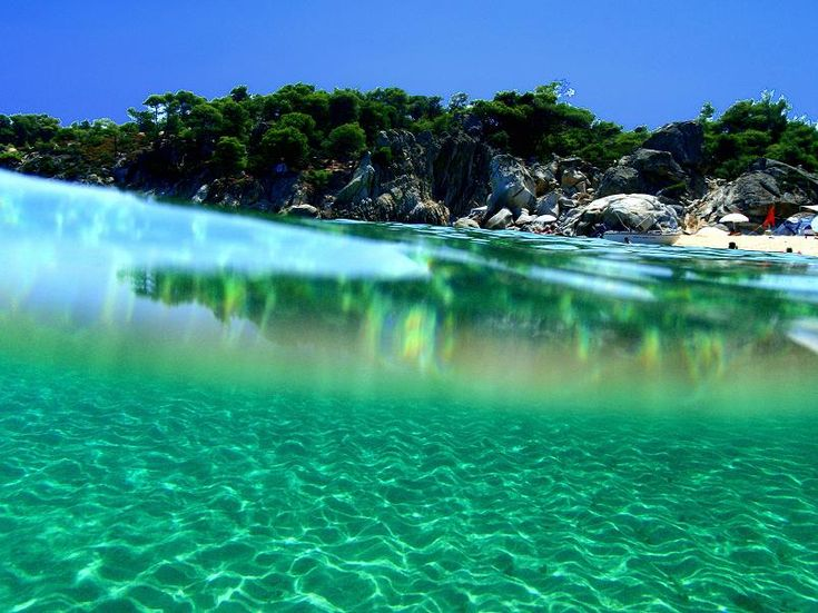 Kavourotrypes, Halkidiki (I have never heard of this place, but I wouldn't mind going)