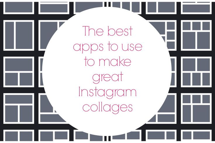 Comparison of 10 of the top Instagram editing/collage apps.