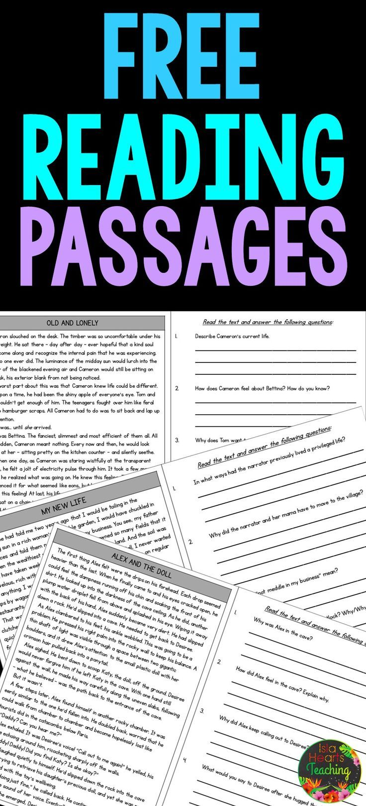 Free Reading Comprehension Passages And Questions For Students In Thir Comprehension Passage Reading Comprehension Passages Reading Comprehension Passages Free [ 1619 x 736 Pixel ]