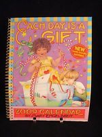 Mary Engelbreit 2009 Desk Weekly Calendar Each Day is a Gift never used