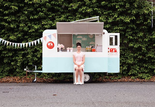 """ALL ROUND CONTENT This trailer is a great way to make it easier to """"lock up shop"""", put additional freezer space inside for cakes (might be nice to make side wall transparent so you can see through from the side), then the back of the trailer can be used for content to attract passers by"""