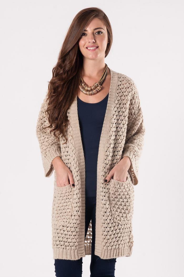 Kimono Kollu Cepli Hırka 0371 | addax-Bayan Giyim-Elbise Modelleri- Hediye Ürün
