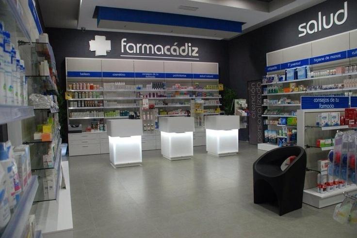 Nueva #Reforma de farmacia en Cádiz. #farmacia farmacadiz nuevos #mostradores retroiluminados. Puedes ver más fotos de nuestras nuevas instalaciones en nuestra web.