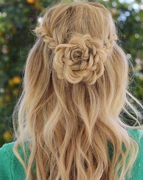 Cute Long Hairstyles for Teenage Girls #teenagegirlhairstyles