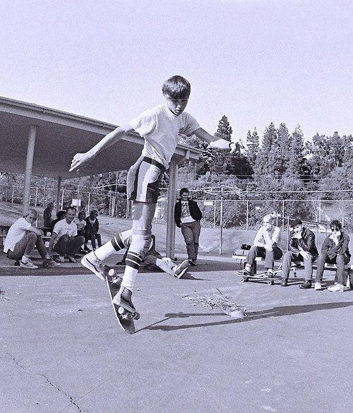 Rodney Mullen showing off on flatland with Minor Threat looking on.: Bonesbrigad Minorthreat, Rodney Mullen, Unicycle, Minorthreat Padgram, Rodneymullen, Skating, Minor Threat, Skateboard,  Monocycl