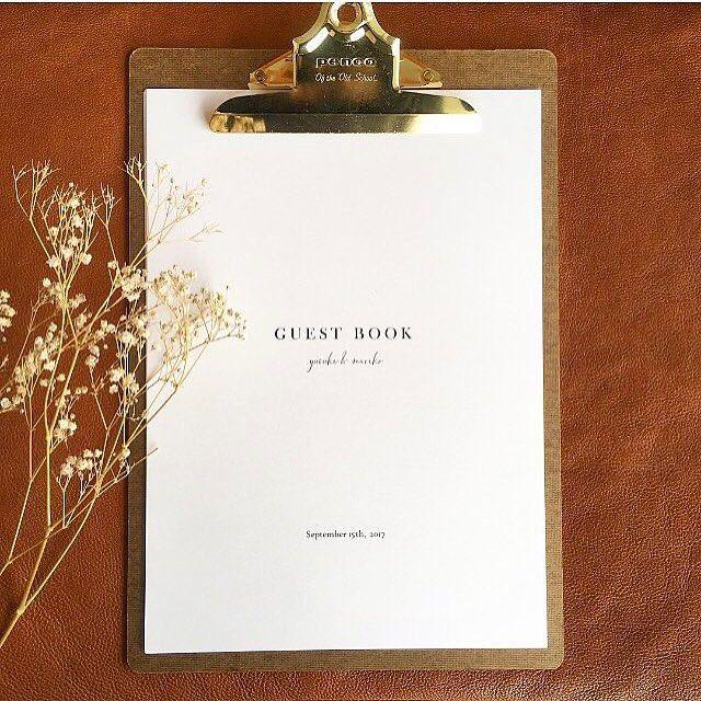いいね!158件、コメント2件 ― Wedding design × Paper worksさん(@awins.co)のInstagramアカウント: 「New!!芳名帳(simple) . 華奢で上品。 上質な紙を使用しているからこそ シンプルが映えるそんなデザインです。 .…」