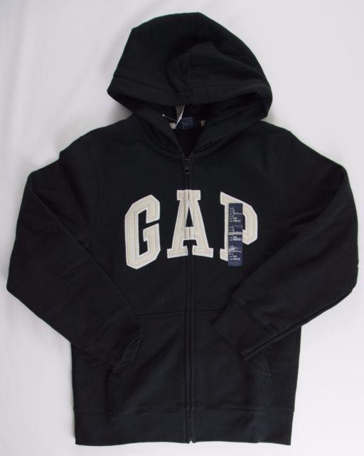 1a19dd331 Check out Gap Hoodie Boys Jacket Full Zip Kids Sweatshirt Logo Fleece Lined  Coat M Black #fashion #hoodie #outfit #gap #brand #black #white
