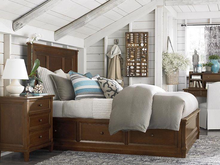 Wonderful BASEMENT BEDROOM: Storage Bed By Bassett Furniture