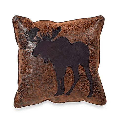 Croscill® Plateau 16-Inch Square Moose Throw Pillow