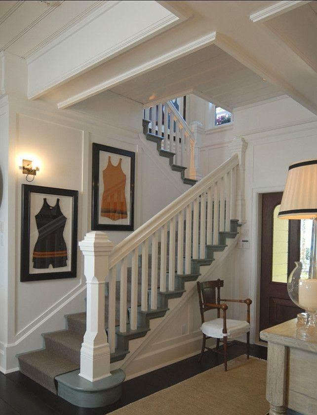 Foyer Framed Art : Coastal rooms tufts and clinks vintage framed bathing