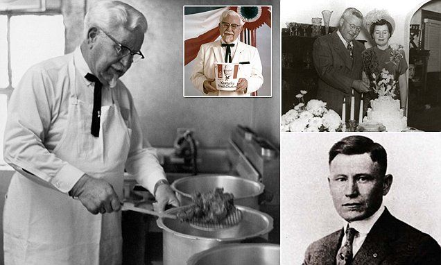 The incredible true story of Colonel Sanders #DailyMail | These are some of the stories. See the rest @ http://twodaysnewstand.weebly.com/mail-onlinecom or Video's @ http://www.dailymail.co.uk/video/index.html