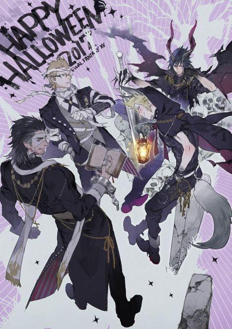 """""""プは狼男×墓守 のくと悪魔×王様…それただの魔王だわ~~~ってなって終了"""" Final Fantasy XV Gladiolus Gladio"""