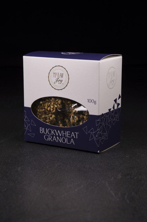 Raw Buckwheat Granola, Raw Vegan, Clean Eating, Bio