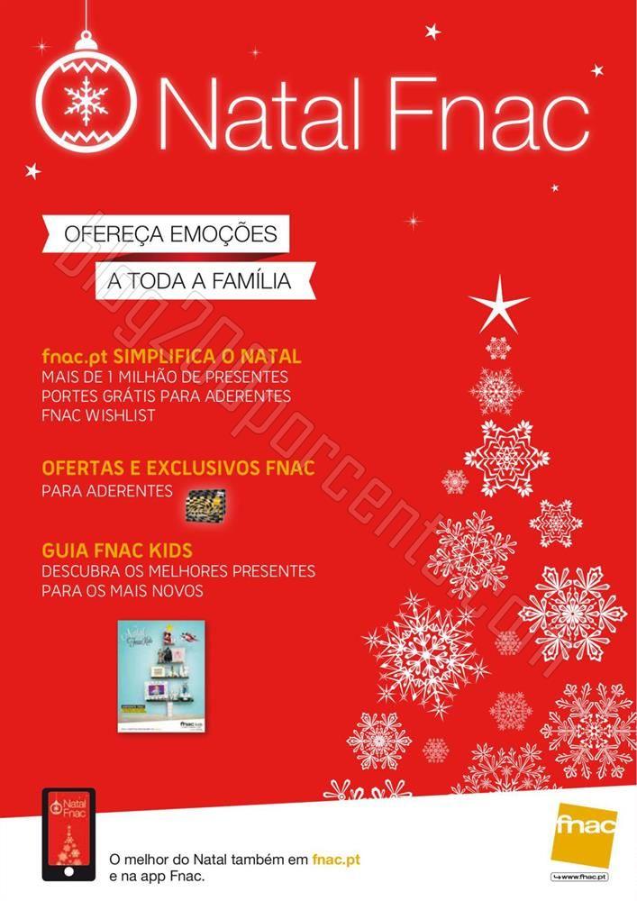 Novo Catalogo FNAC Natal de 13 novembro a 31 dezem