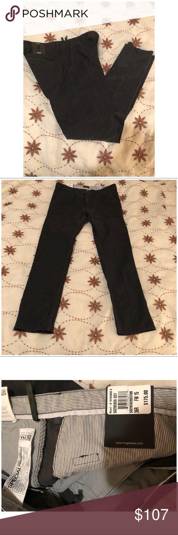 NEW HUGO BOSS SLIM FIT MEN TROUSERS COTTON HUGO BOSS SLIM FIT TROUSERS! 👖💯 Hugo Boss Jeans Slim Straight