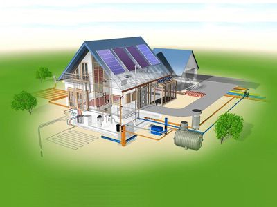 Услуги по строительному проектированию жилых зданий и частных домов - Затишний будинок