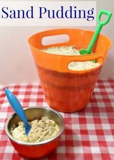DID IT! Zoey's mermaid party: sand pudding recipe