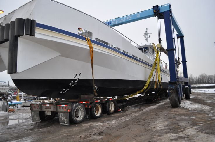 Behind the Scenes of our 150 person passenger boat. It made it's way on the water December 19, 2013.