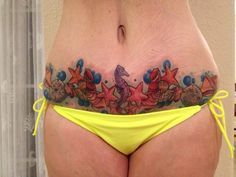 Tummy Tuck Scar Cover Up | Tummy Tuck Scars - Yes - But Great Abs - Weight Loss Tips Blog