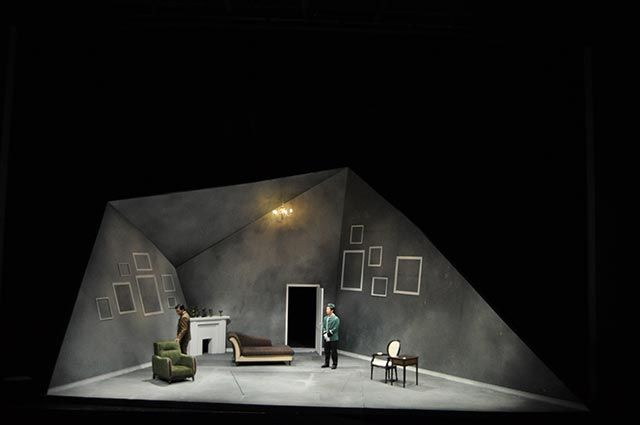 No Exit. Taipei National University of the Arts. Scenic design by Chun-An Hsieh. 2010