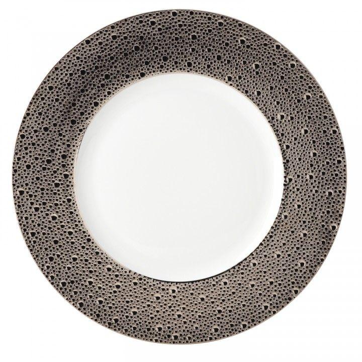 Bernardaud Ecume Platinum Service Plate  sc 1 st  Pinterest & 36 best Formal Dinnerware images on Pinterest | Countertop Cutlery ...