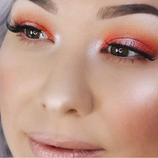 Did you catch this Peach Spotlight look on our channel?  see the full tutorial at YouTube.com/PhoenixCosmeticsTV