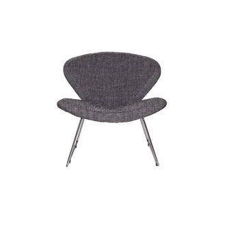 WOOOD fauteuil Vlinder grijs gestoffeerd, alles voor je klus om je huis & tuin te verfraaien vind je bij KARWEI