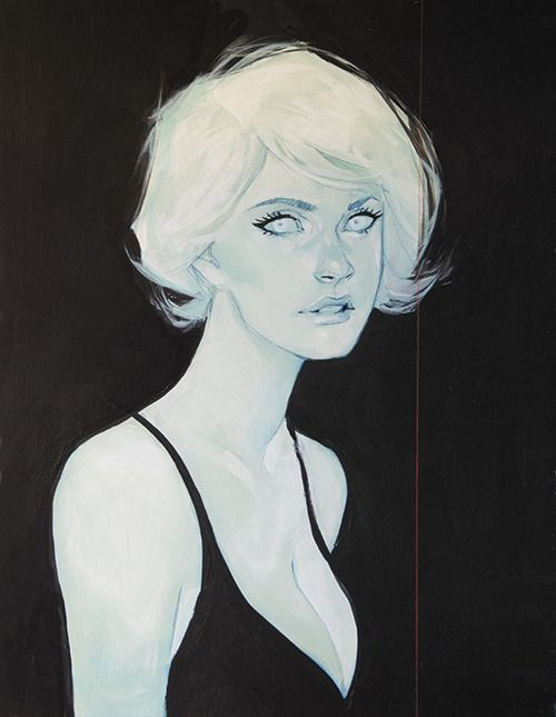 """""""Sugar"""" from the solo gallery show, """"Full Disclosure"""", at Stranger Factory in Feb. 2014 by Phil Noto"""