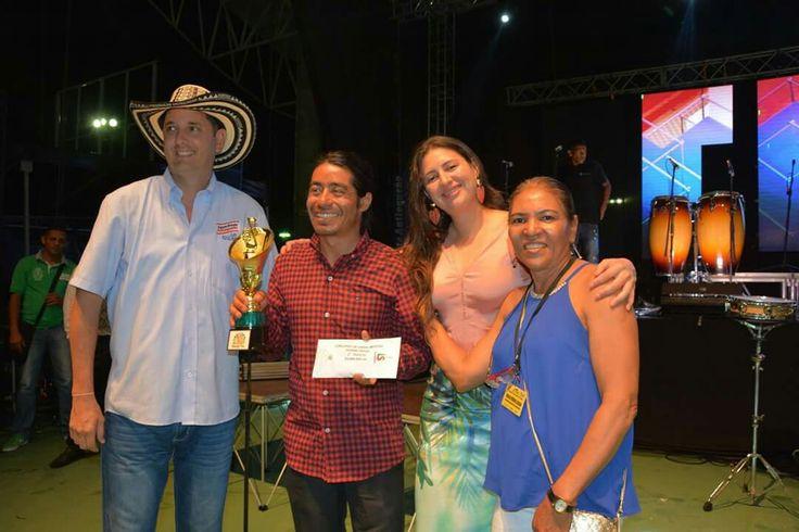 """Ganador Porro Tapao, Festival Nacional del Porro en San Pelayo 2016, """"Figuras del Folclor, de Filiberto Perez e interpretado por la Banda 4 de enero de Tocáncipa, Cundinamarca."""