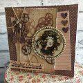Santoro Willow Beautiful Moments card