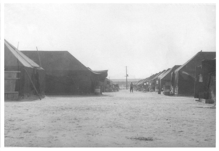 'Main Street' Kimpo Air Force Base K-14 1954