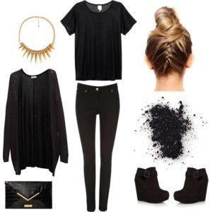 cute outfit good for a winter day